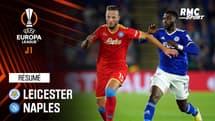 Résumé : Leicester 2-2 Naples - Ligue Europa J1