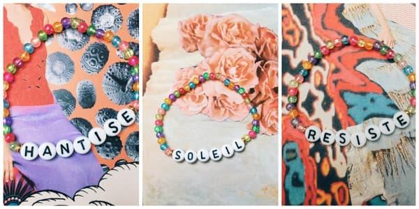 Des bracelets faits-maison