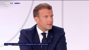 """Emmanuel Macron: """"Nous allons avoir une augmentation massive du chômage"""""""
