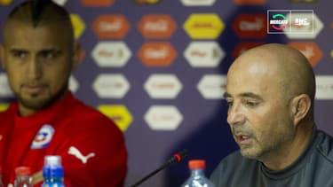 Mercato : Sampaoli a des vues sur son ancien protégé... Arturo Vidal