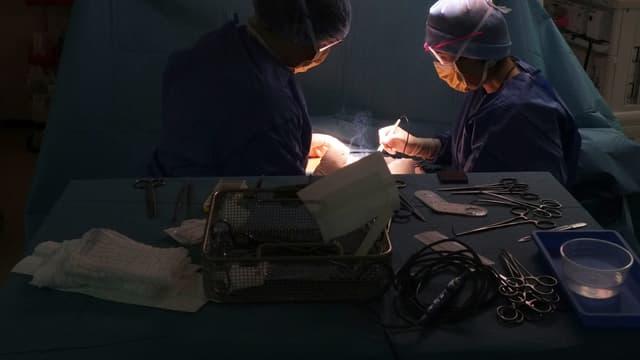 La fillette de 4 ans a subi une amygdalectomie le 29 octobre 2018 (image d'illustration)