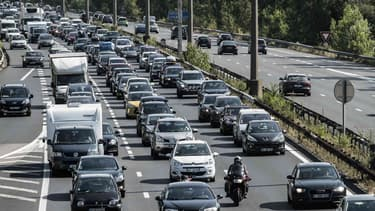 Bison Futé a classé ce samedi rouge sur les routes françaises dans le sens des retours.