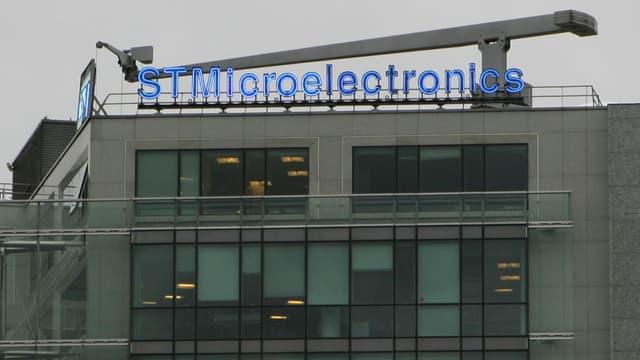 STMicroelectronics était sorti du CAC40 en 2013