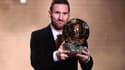 Lionel Messi vainqueur du Ballon d'or pour la 6e fois