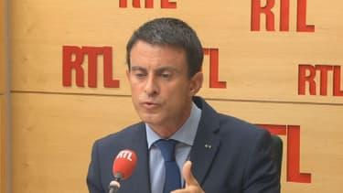 Manuel Valls sur RTL.