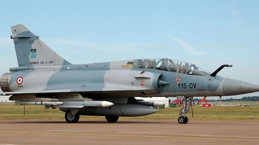 Un mirage 2008 de l'armée de l'air (Photo d'illustration).
