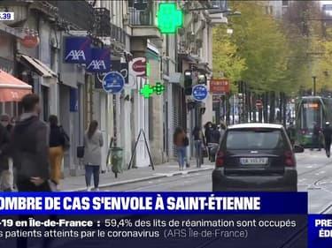 Le nombre de cas de Covid-19 s'envole à Saint-Étienne