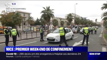 Covid-19: premier week-end de confinement à Nice