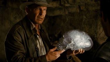Harrison Ford dans Indiana Jones et le Royaume du crâne de cristal