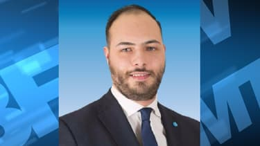 Gauthier Bouchet, candidat FN en Loire-Atlantique.