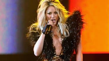 Shakira en concert en 2010 au Texas