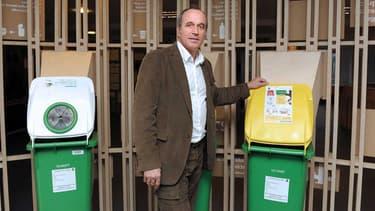 Eric Brac de la Perriere, le directeur général d'Eco-Emballages, en 2012.