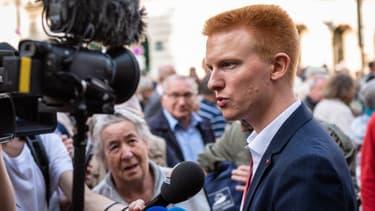 Adrien Quatennens, député LFI du Nord, le 18 octobre 2018