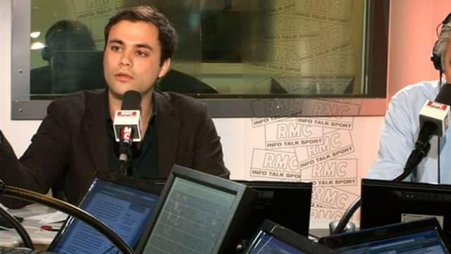 Charles Consigny au micro des Grandes Gueules sur RMC.