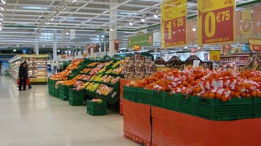 Les Français ont évité les rayons alimentaires des supermarchés en avril, mais ils n'ont pas pu éviter la facture de gaz et d'électricité.