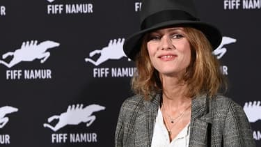 Vanessa Paradis au Festival international du film de la Francophonie à Namur, en octobre 2017.