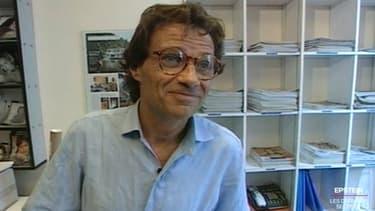 Une ancienne photo de l'agent de mannequins Jean-Luc Brunel, ancien proche de Jeffrey Epstein.