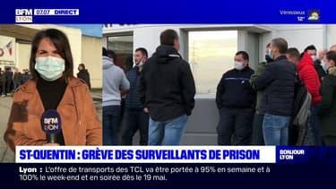 Saint-Quentin-Fallavier: les surveillants de prison en grève