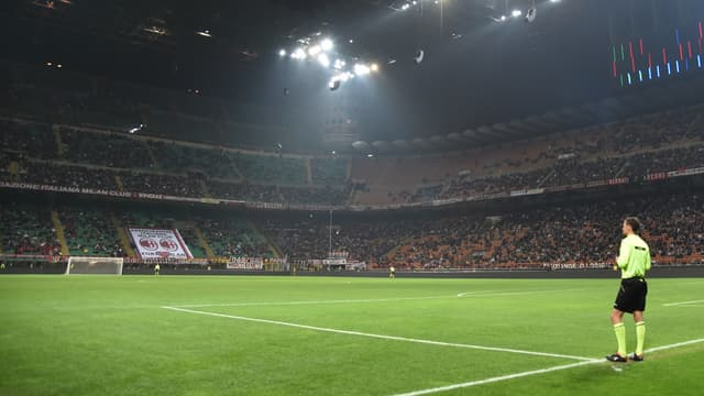 Le stade San Siro, à Milan