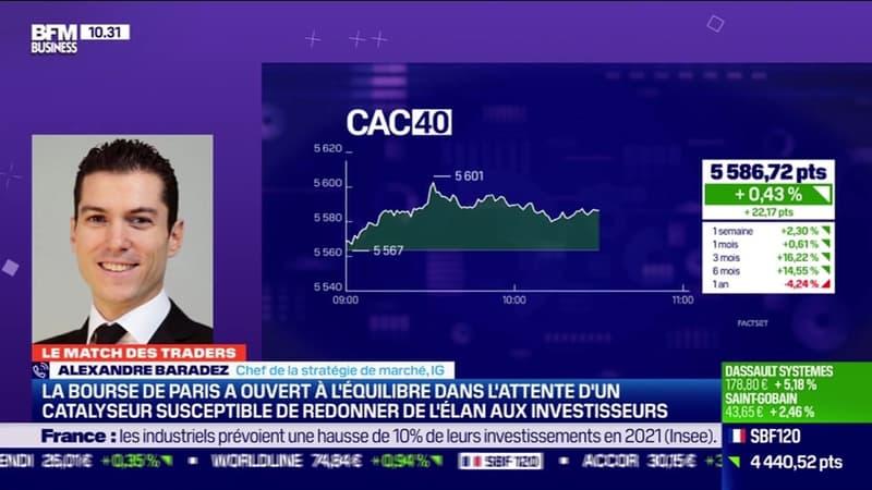 Le Match des traders : Alexandre Baradez vs Jean-Louis Cussac - 04/02