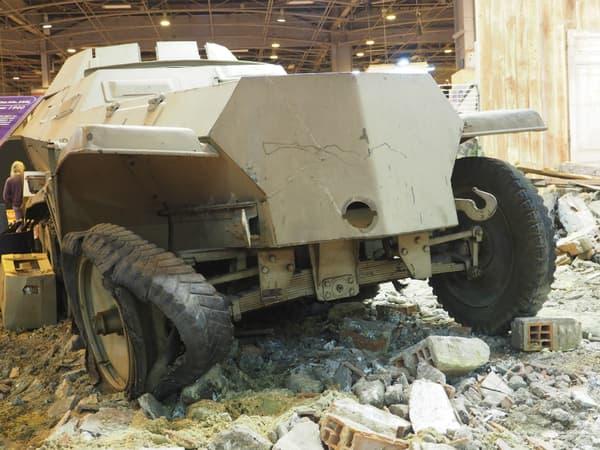 Le Sd.Kfz 250 était un véhicule blindé léger de l'armée allemande pendant la Seconde Guerre Mondiale.