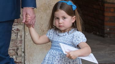 La princesse Charlotte à la sortie de la chapelle du palais royal Saint James