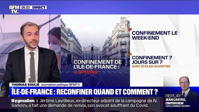 Vers un reconfinement en Ile-de-France: les deux options privilégiées