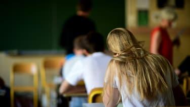 Image d'illustration - Salle de classe dans un lycée