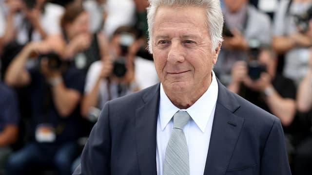 Dustin Hoffman au festival de Cannes en mai 2017.