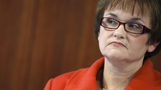 Sabine Lautenschläger pourrait être vice-présidente de la supervision bancaire