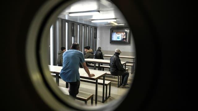 Un Centre de rétention administrative (CRA), où sont détenus des migrants, à Vincennes, le 18 septembre 2019 (photo d'illustration)