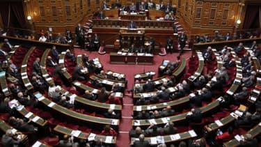 A l'intérieur du Sénat. - François Guillot - AFP