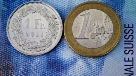 Le franc suisse s'est envolé face à l'euro.