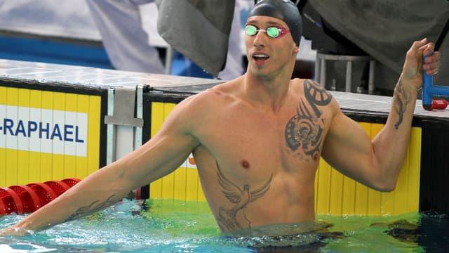 Frédérick Bousquet avoue ne s'être pas assez engagé lors de sa série du 50 m NL.