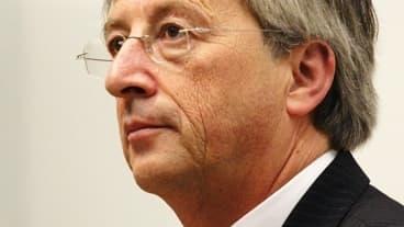 Jean-Claude Juncker estime que l'Europe est toujours dans la crise.
