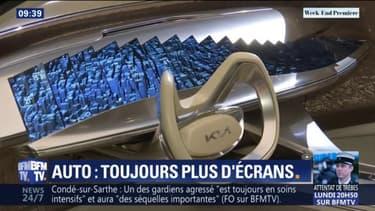 Salon de Genève: cette voiture possède plus de 20 écrans sur son tableau de bord