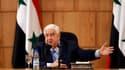 """Le chef de la diplomatie syrienne Walid al Moualem. Le gouvernement syrien a accepté la prolongation d'un mois du mandat des observateurs de la Ligue arabe et déclaré ne pas vouloir """"de solution arabe à la crise"""" qui secoue le pays depuis dix mois. /Photo"""