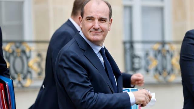 Le Premier ministre Jean Castex à l'Elysée le 30 juin 2021
