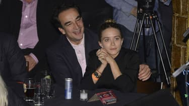 Mary-Kate Olsen et Olivier Sarkozy, le 7 novembre 2013