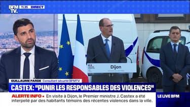 """Castex : """"Punir les responsables des violences"""" (3) - 10/07"""