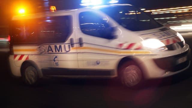 Un véhicule du Samu (photo d'illustration)