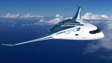 Le projet d'avion à hydrogène présenté par Airbus