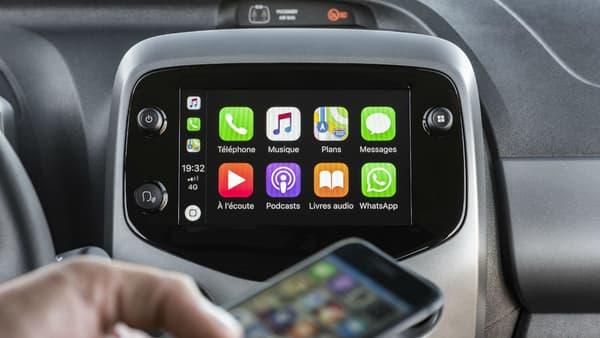 CarPlay et Android Auto sont proposés à partir de 13.240 euros ou 109 euros par mois en LLD.