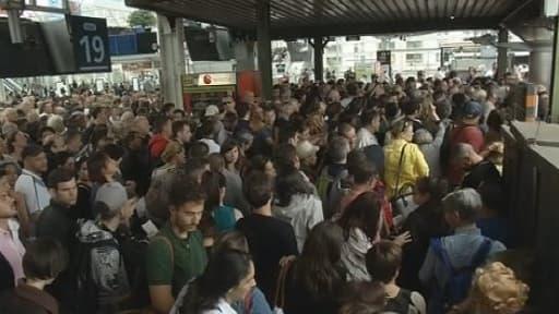 Faute de train, les usagers se reportent sur l'aérien ou le covoiturage.