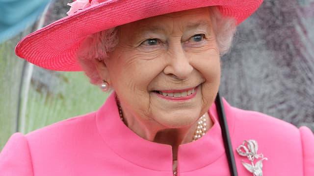 La reine Elizabeth le 10 mai 2016 à Londres.