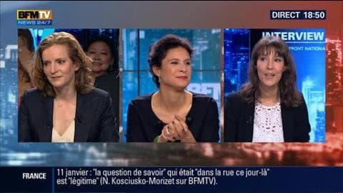 """Nathalie Kosciusko-Morizet face à Laureline Dupont dans BFM Politique: """"La politique n'est pas seulement une question de croissance et de stabilité"""""""