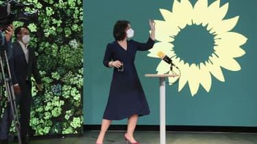 Annalena Baerbock, chef de file des Grünen pour les élections législatives du 26 septembre en Allemagne, le 19 avril 2021 à Berlin