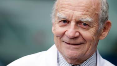 Le professeur Alain Carpentier, père du cœur artificiel que développe aujourd'hui la société Carmat.