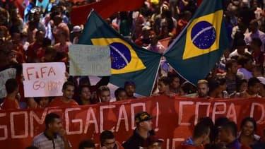 Une manifestation à Sao Paul le 22 mai dernier.