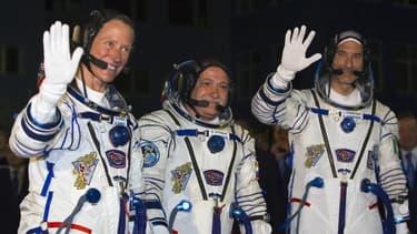 L'astronaute italien Luca Parmitano, le cosmonaute russe Fiodor Iourtchikhine et l'Américaine Karen Nyberg ont décollé mardi à bord d'une fusée Soyouz du cosmodrome de Baïkonour, au Kazakhstan, en direction de la Station spatiale internationale (ISS). La